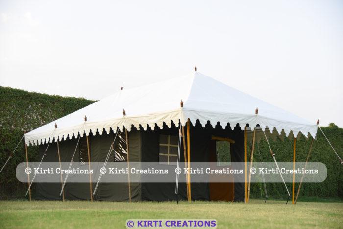 Spacious Resort Tent