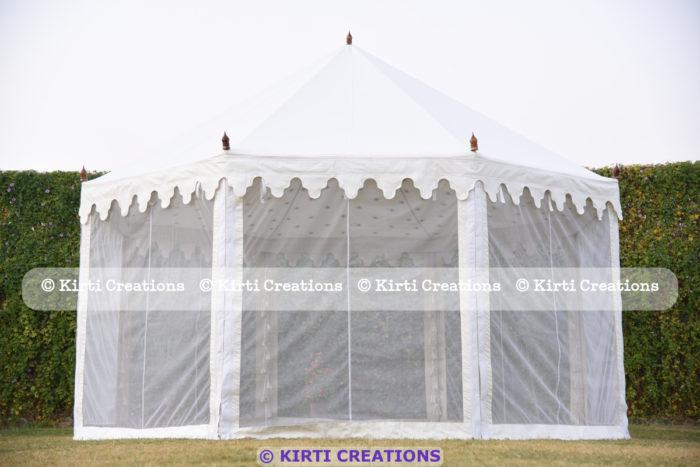 Refined Resort Tent