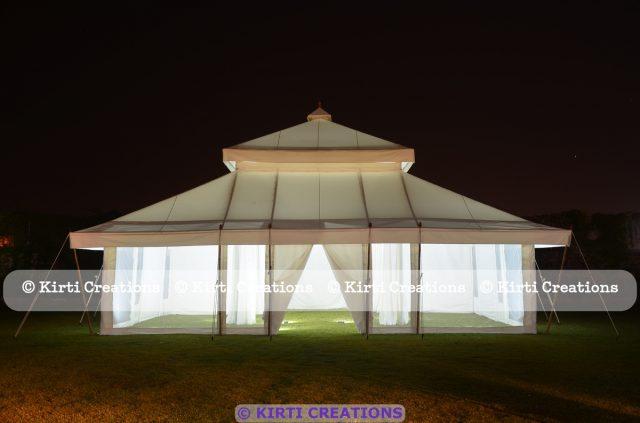 Stylish Resort Tent