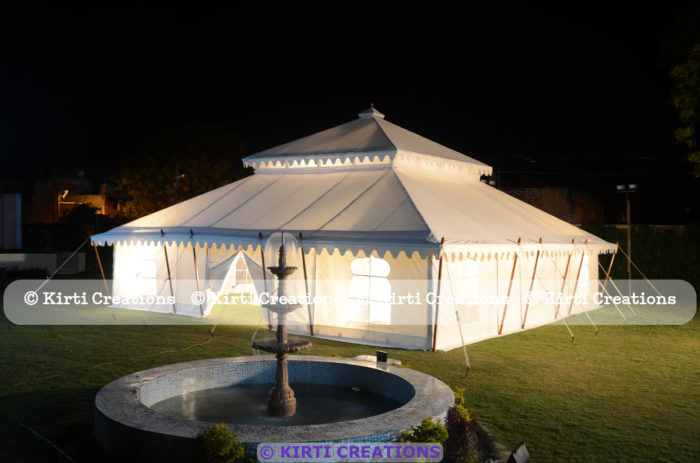 Efficient Resort Tent